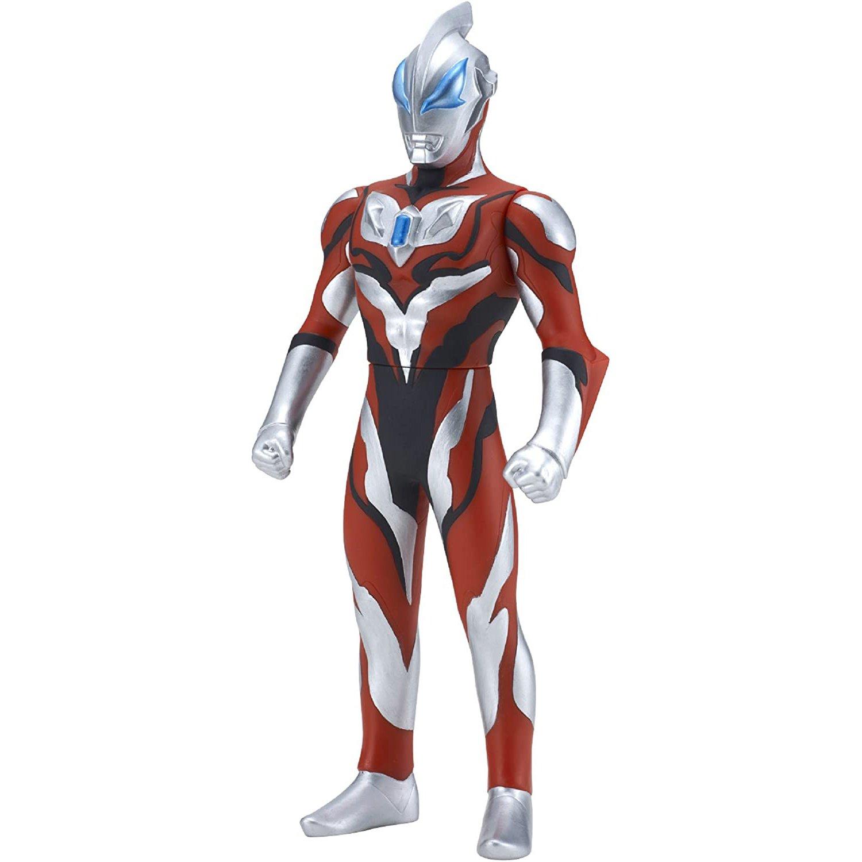 BANDAI 超人力霸王大型軟膠 捷德初始形態 (高度23公分)