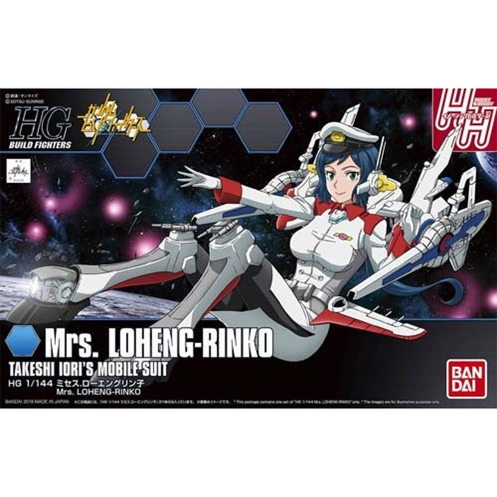 鋼彈gundam模型 HGBF 1/144 創鬥者 #067 羅安格凜子太太