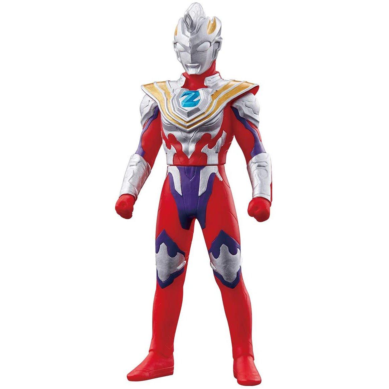 BANDAI 英雄軟膠 超人力霸王傑特 伽瑪