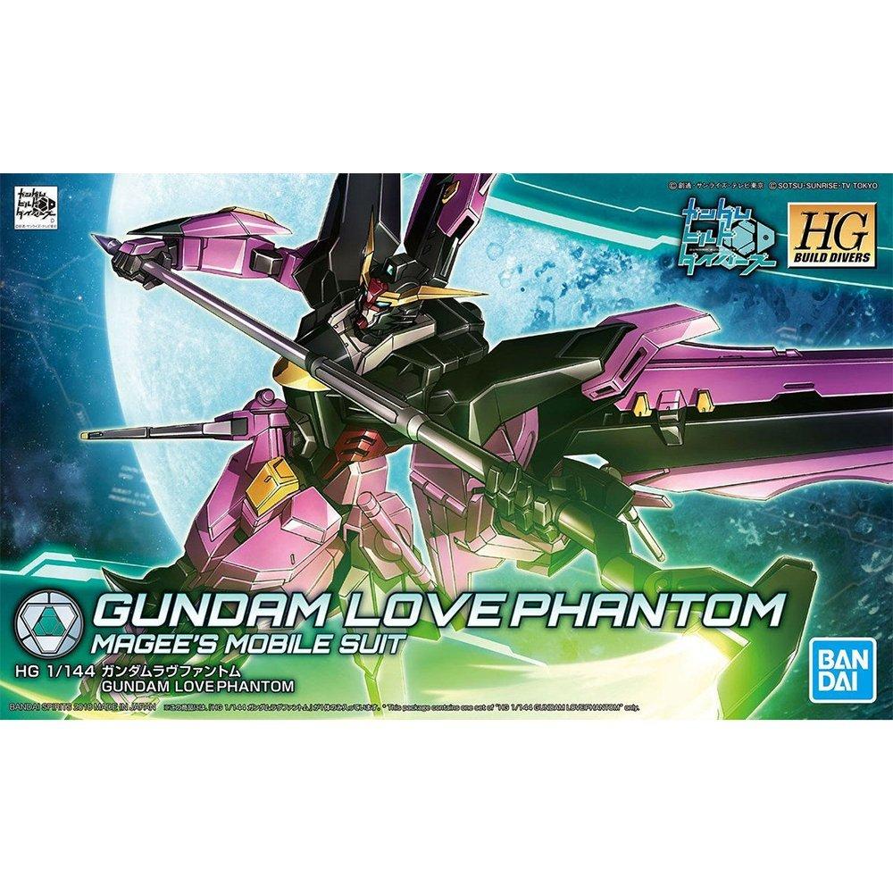鋼彈gundam組合模型 HGBD 1/144 創鬥者 潛網大戰 #019 愛情幻影鋼彈
