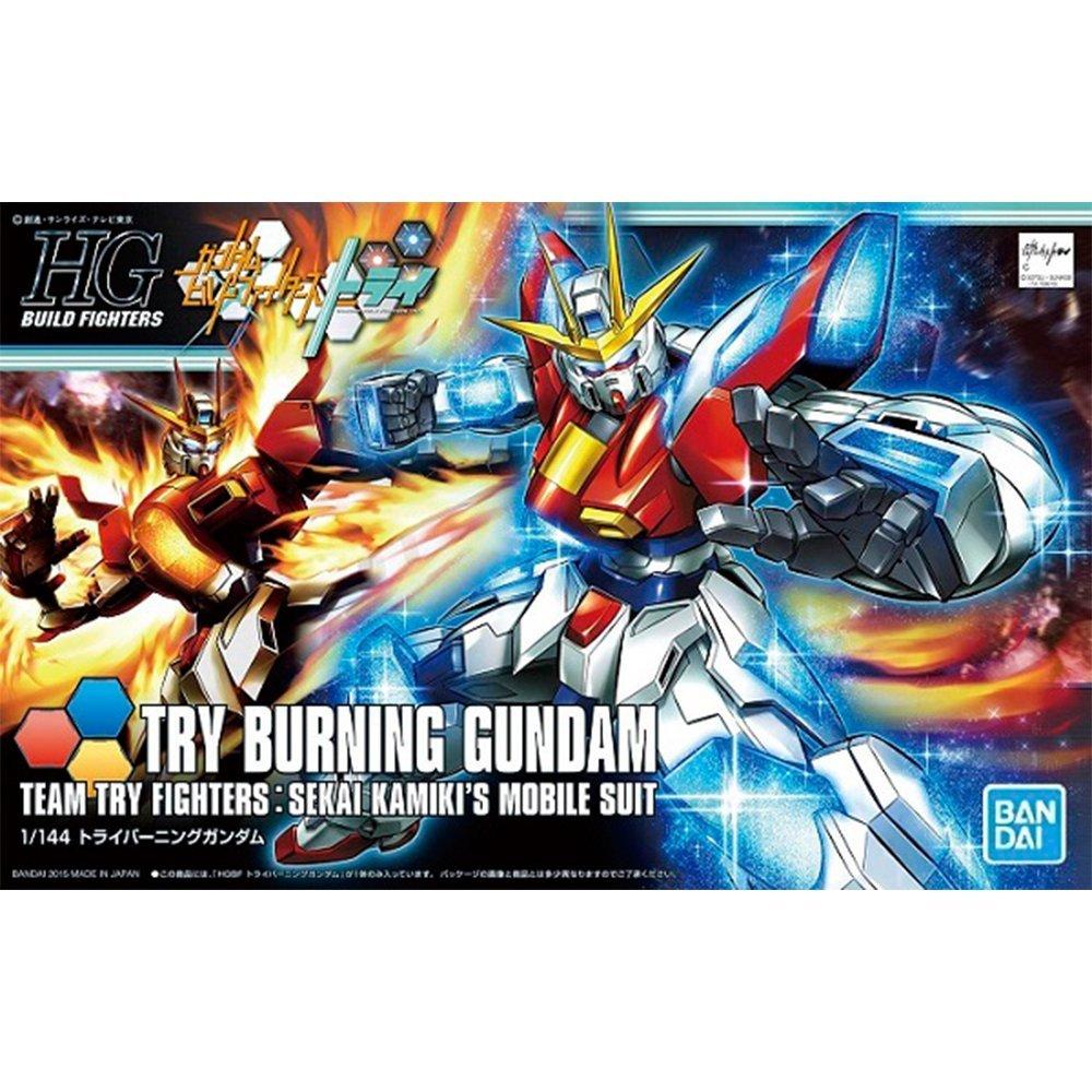 鋼彈gundam組合模型 HGBF 1/144 創鬥者 #028 試驗燃燒鋼彈