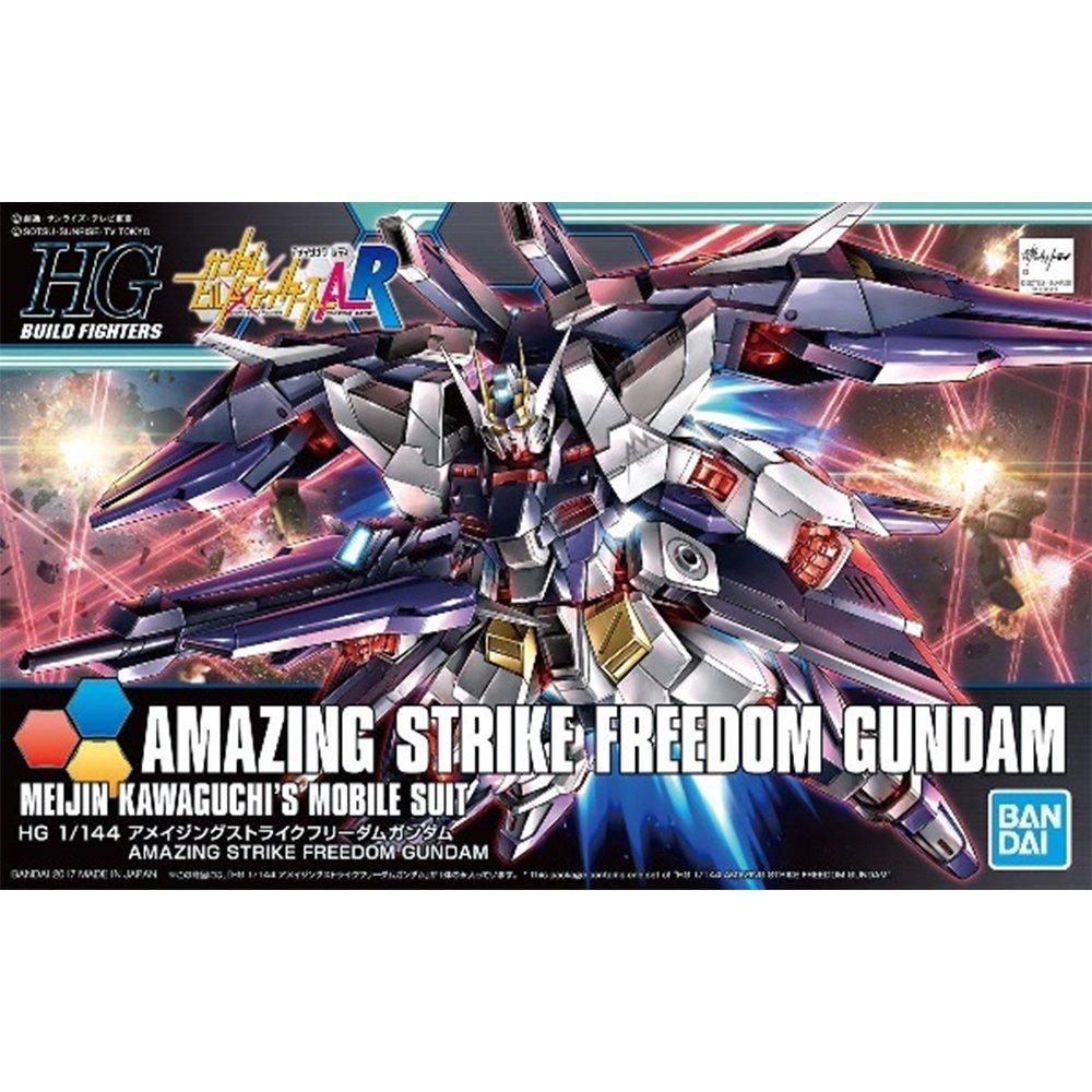 鋼彈gundam組合模型 HGBF 1/144 創鬥者 #053 驚異攻擊自由鋼彈