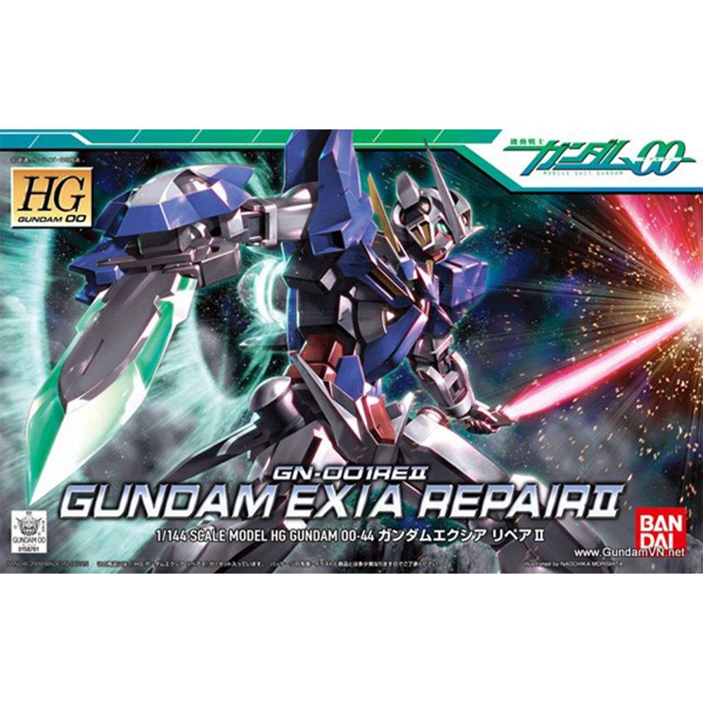 鋼彈gundam組合模型能天使系列 1/144鋼彈00 HG #44 能天使鋼彈修補版II