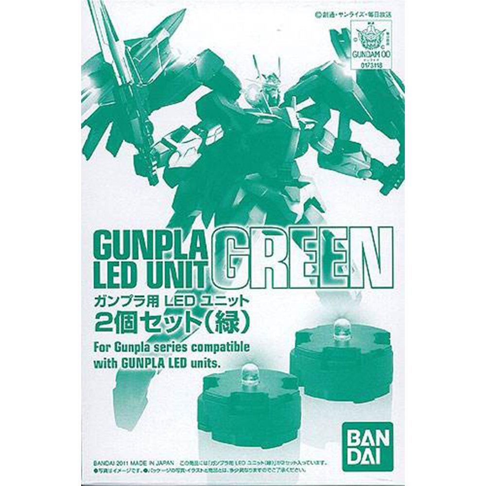 鋼彈gundam組合模型 改造配件 LED燈 【綠色二入】