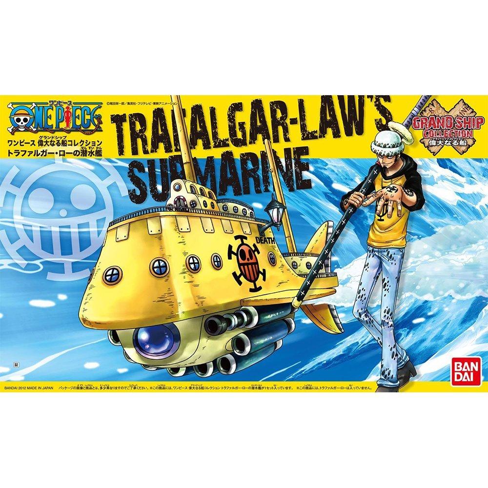 鋼彈gundam組合模型 航海王{海賊王} #02 偉大的船艦收藏集 羅‧潛艇 【約13公分】
