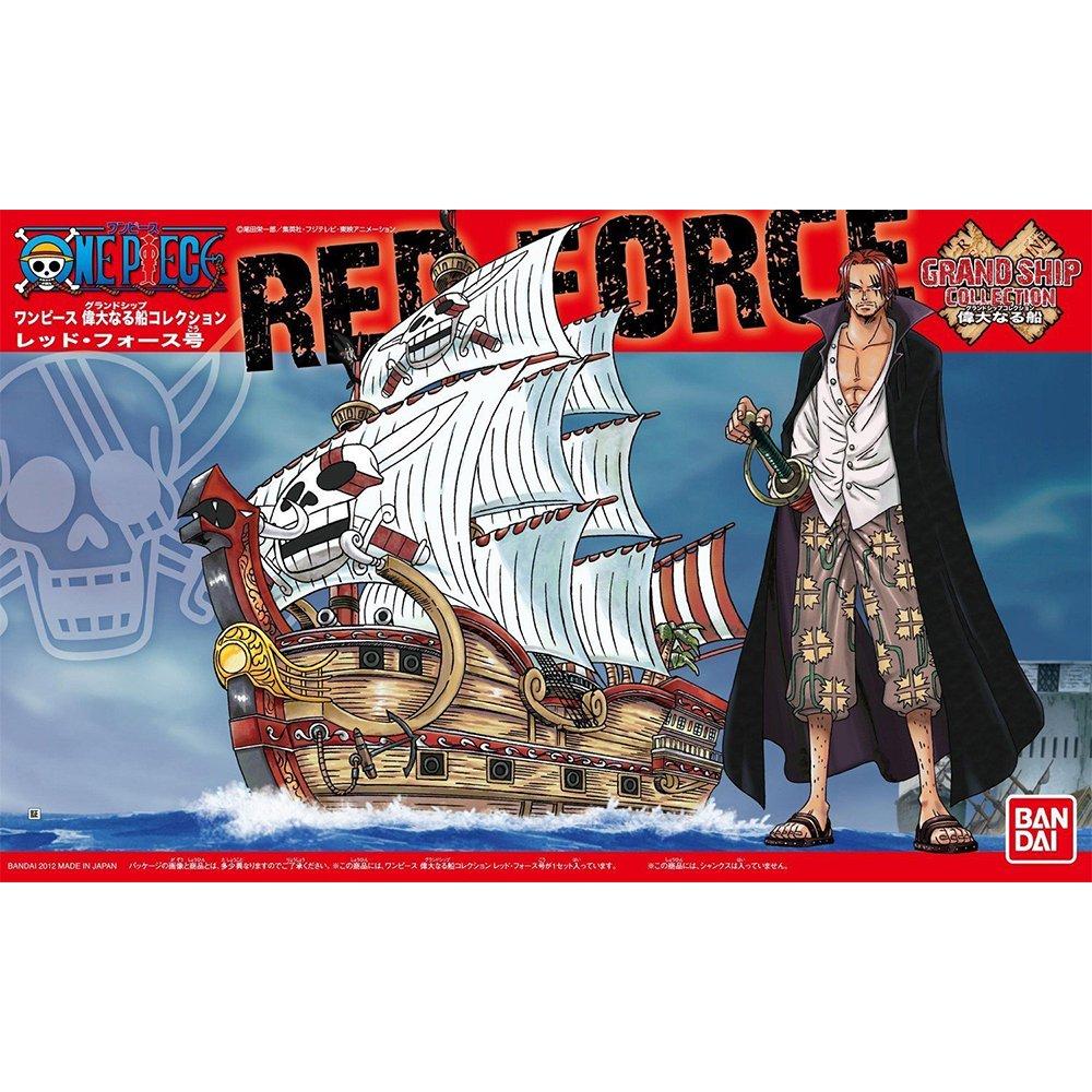 鋼彈gundam組合模型 航海王{海賊王} #04 偉大的船艦收藏集 紅色勢力號 【約13公分】