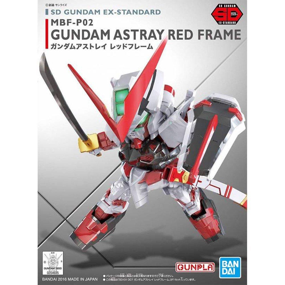 鋼彈gundam組合模型 BB戰士 SD EX-S系列 #007 紅色異端鋼彈