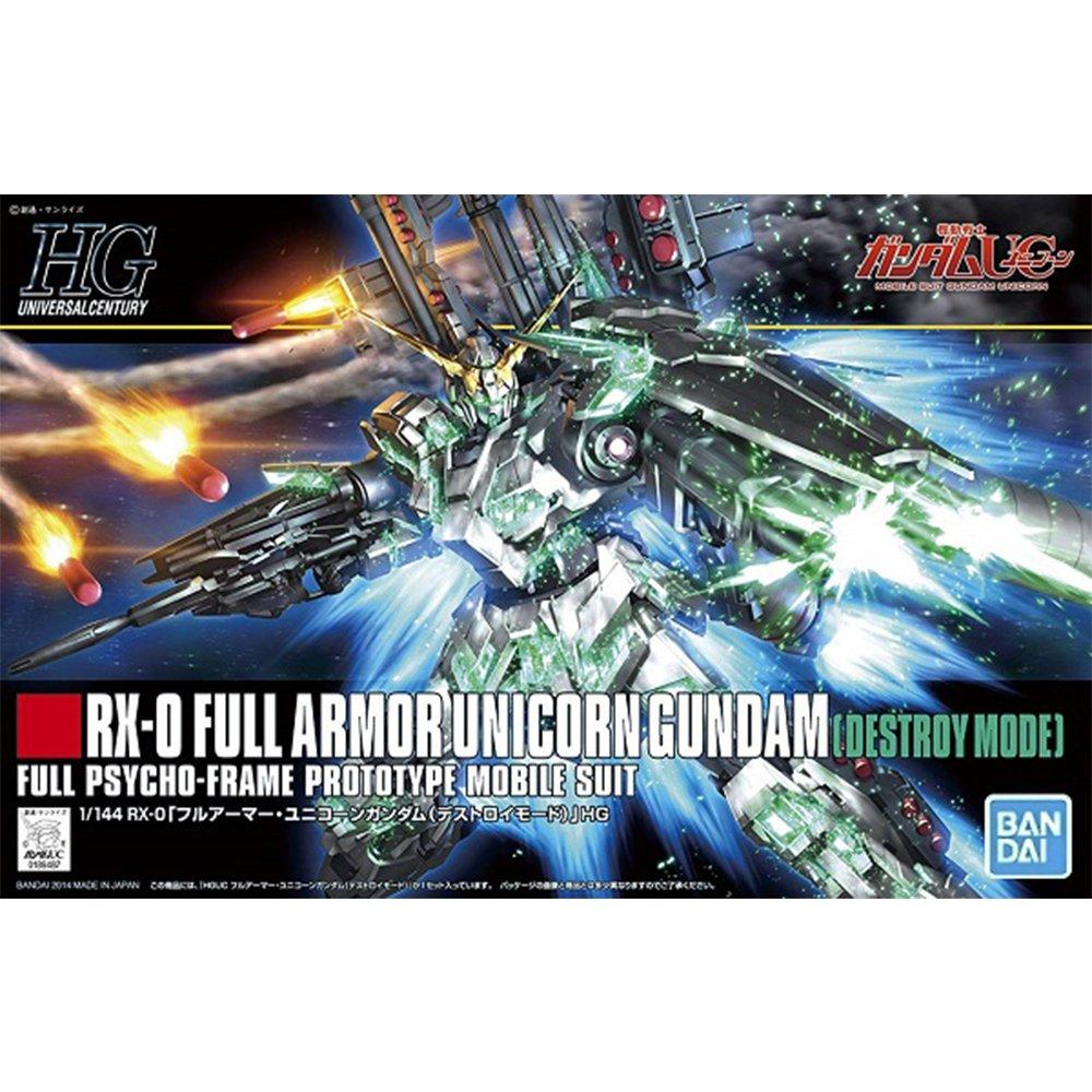 鋼彈gundam組合模型 HGUC 1/144 #178 全裝甲型獨角獸鋼彈(破壞模式)