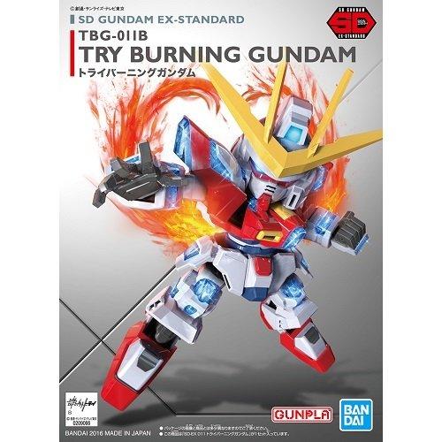 鋼彈gundam組合模型 BB戰士 SD EX-S系列 #011 TRY燃燒鋼彈