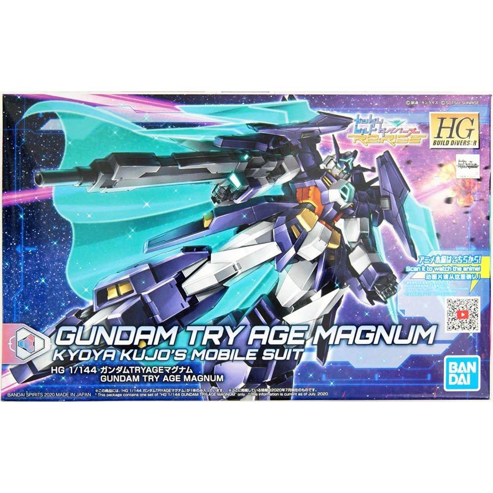 鋼彈gundam組合模型 HGBD:R 1/144 重火力行鋼彈 #027 TRY AGE