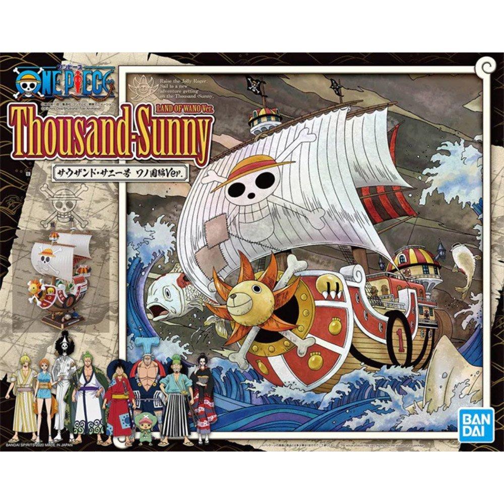 鋼彈gundam組合模型 航海王{海賊王} 千陽號 和之國篇Ver.【附9人】