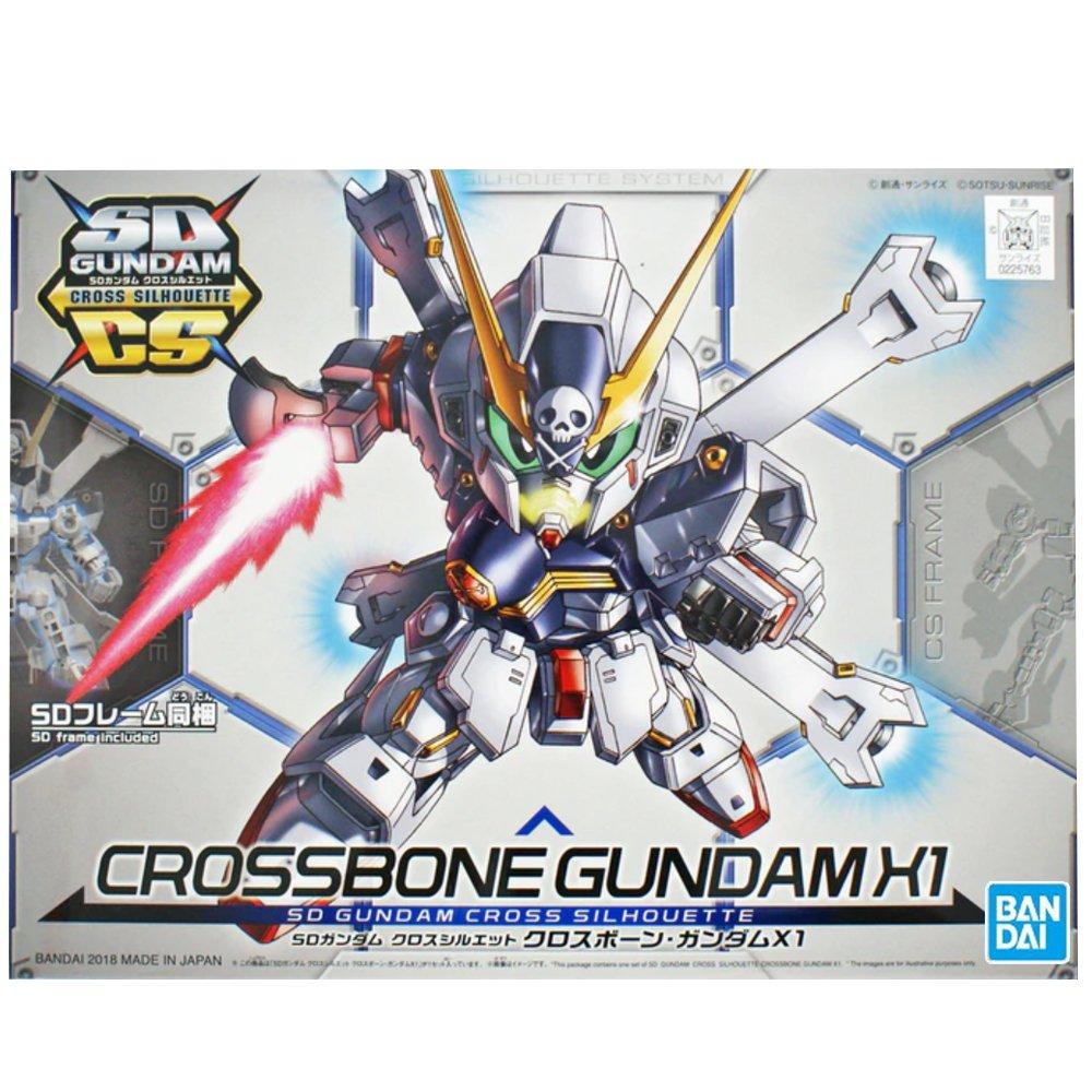 鋼彈gundam組合模型BB戰士 SDCS系列 #02 骷髏鋼彈X-1