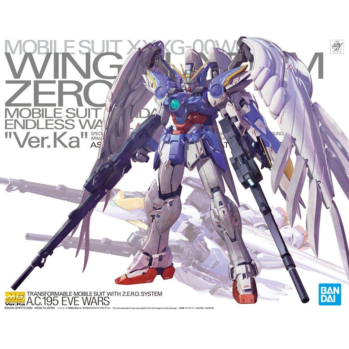 BANDAI 鋼彈組合模型 MG 1/100 飛翼鋼彈零式EW Ver.Ka