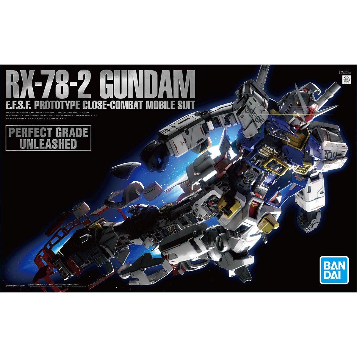 鋼彈gundam組合模型 PG UNLEASHED 1/60 RX-78-2 鋼彈