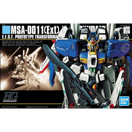 BANDAI 鋼彈組合模型 HGUC 1/144 #029 EX-S