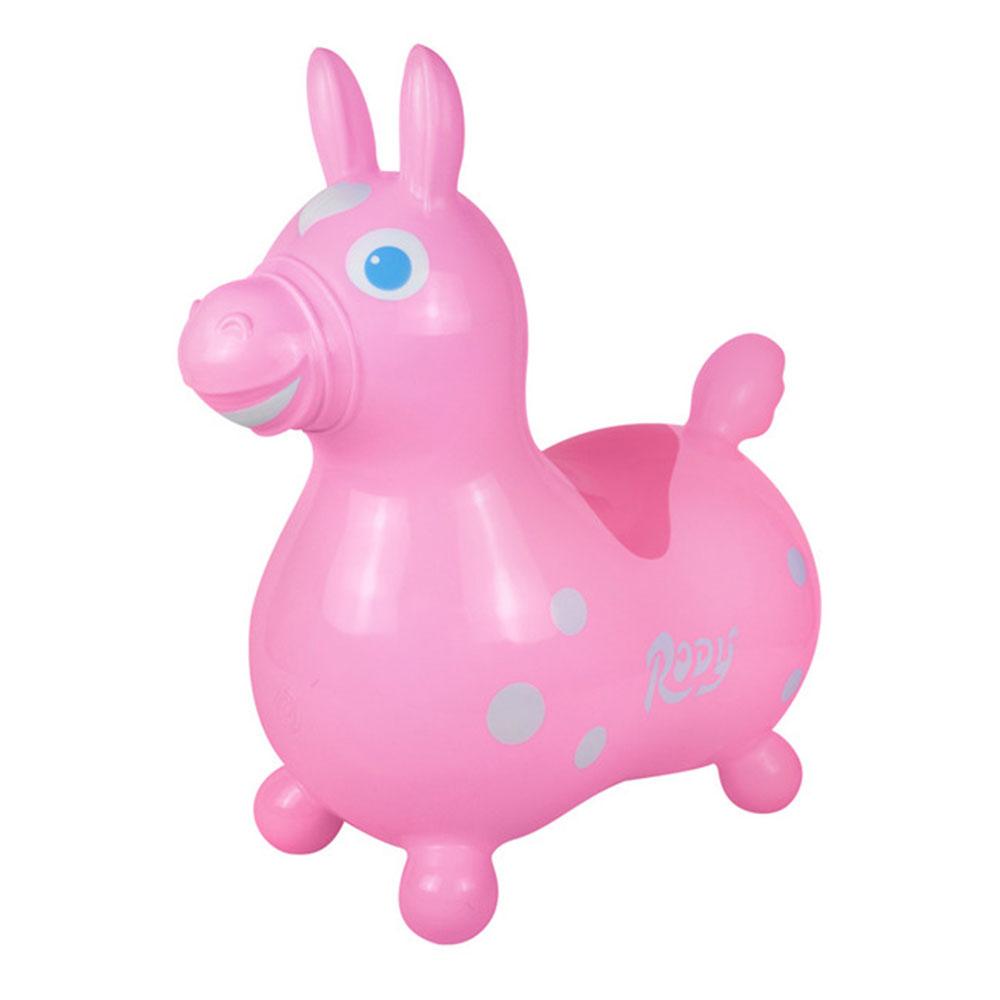 義大利 RODY 彈力跳跳馬亞洲限定粉色系 (粉紅色)義大利原裝進口
