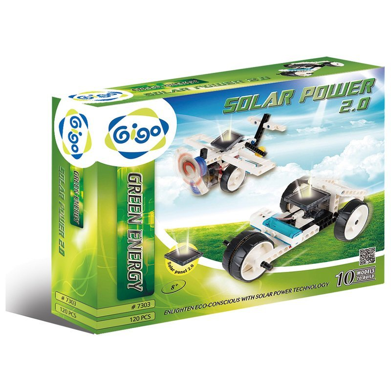 智高Gigo 綠色能源GREEN ENERGY 系列 #7303 太陽能驅動創意組