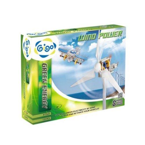 智高 Gigo 科學遊戲 綠色能源 風力發電 #7324-CN