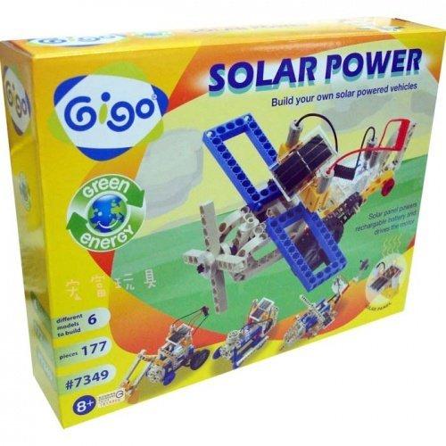 智高Gigo科學遊戲 綠色能源 - #7349-CN太陽能動感