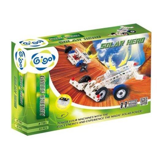 智高Gigo 綠色能源系列 #7361-CN 太陽能機械入門組