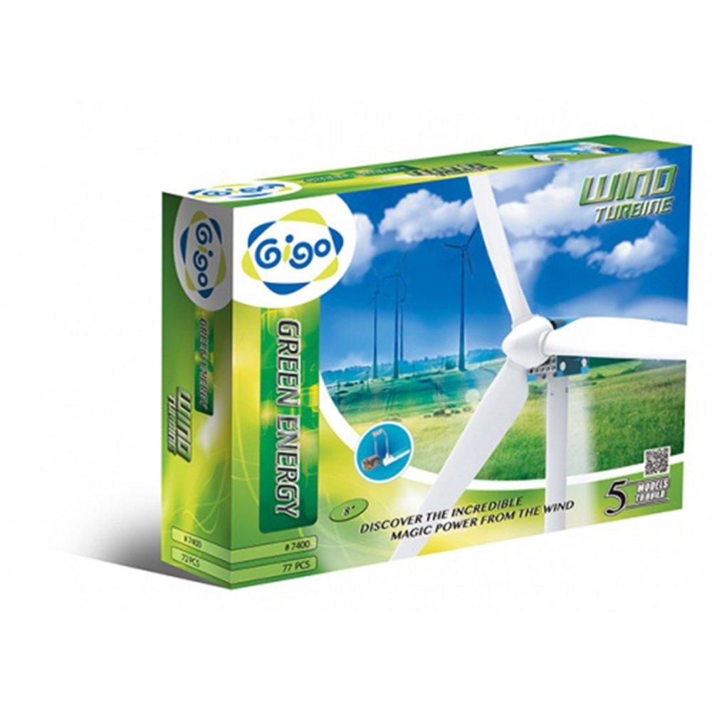 智高Gigo 綠色能源系列 #7400-CN 擬真風力發電組 【內未附充電電池】