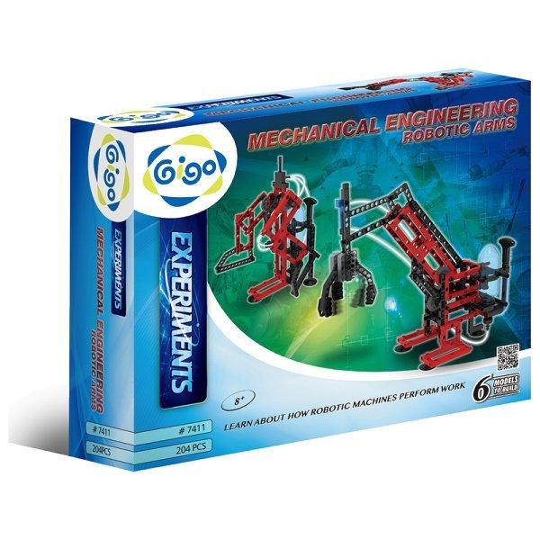 智高 Gigo 創新科技系列 #7411-CN 氣壓動能機械手臂