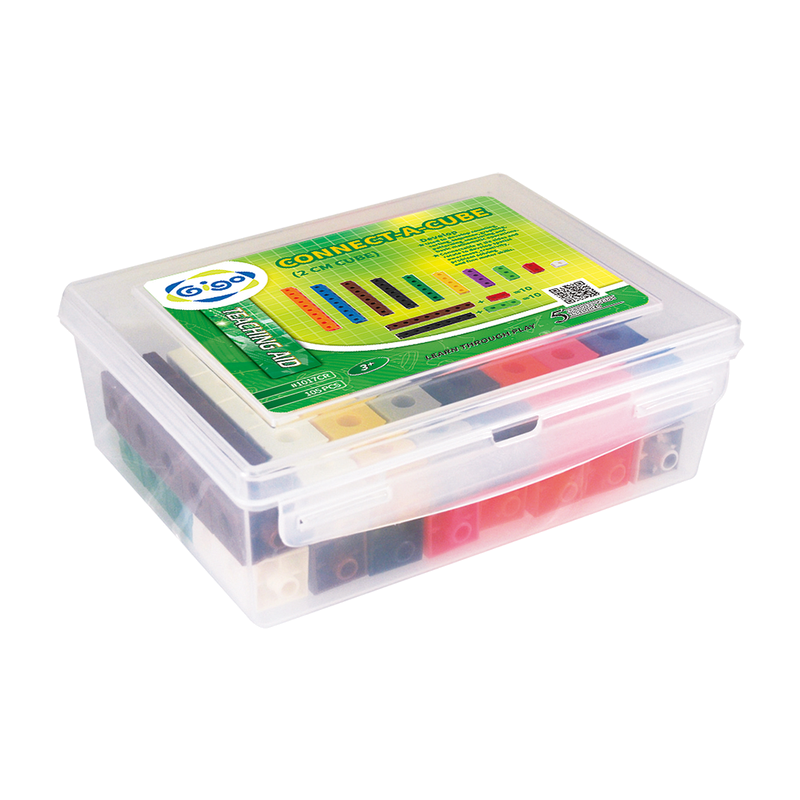 智高 Gigo 教具系列 #1017CR 智高積木2公分正方形