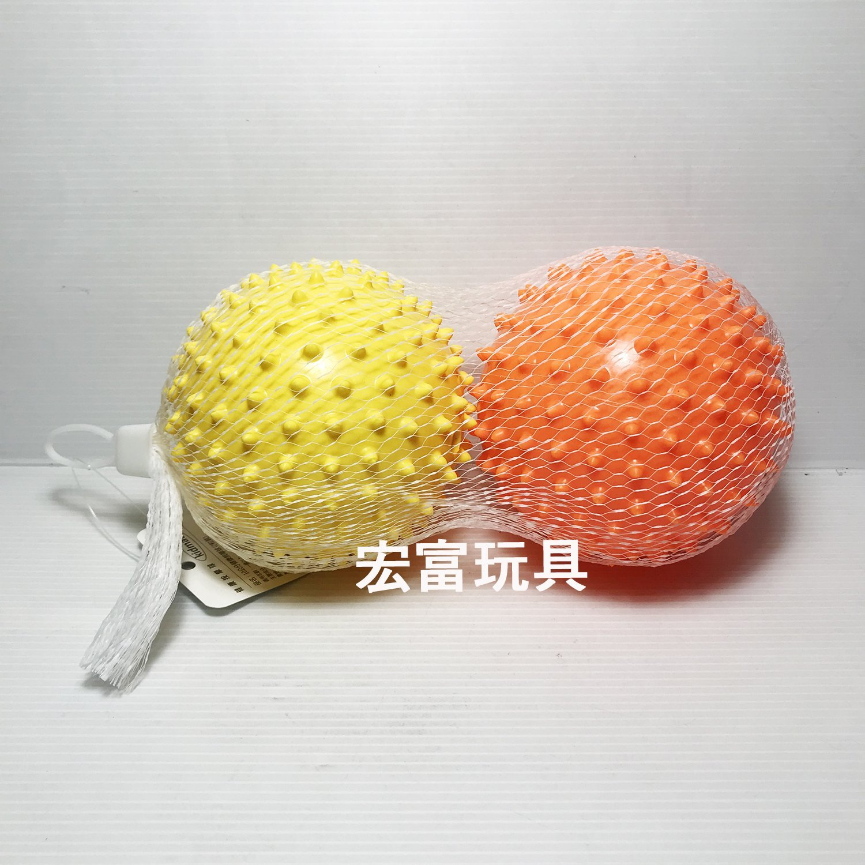 10公分 健康按摩球 (二粒裝)【隨機出貨無法挑色】