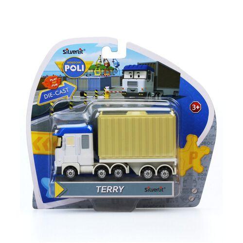 Robo car POLI 波力合金車 泰瑞