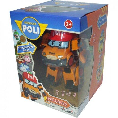 Robo car POLI 波力 4吋變形馬克