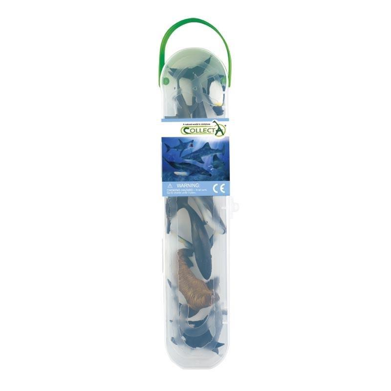 《 COLLECTA 》英國 PROCON 動物模型A1107 迷你海洋動物組-1