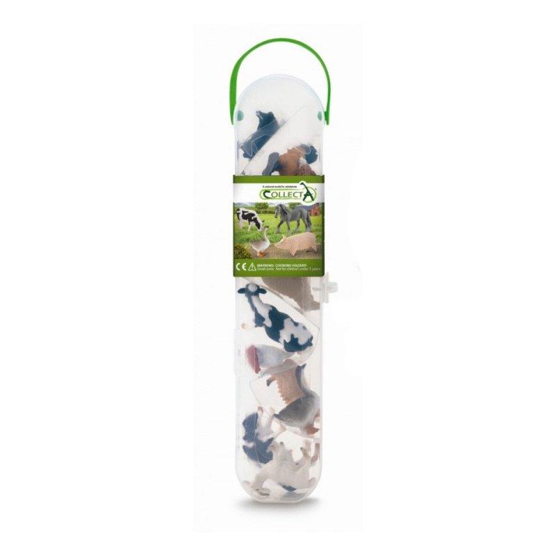 《 COLLECTA 》英國 PROCON 動物模型 A1110 盒裝迷你農場