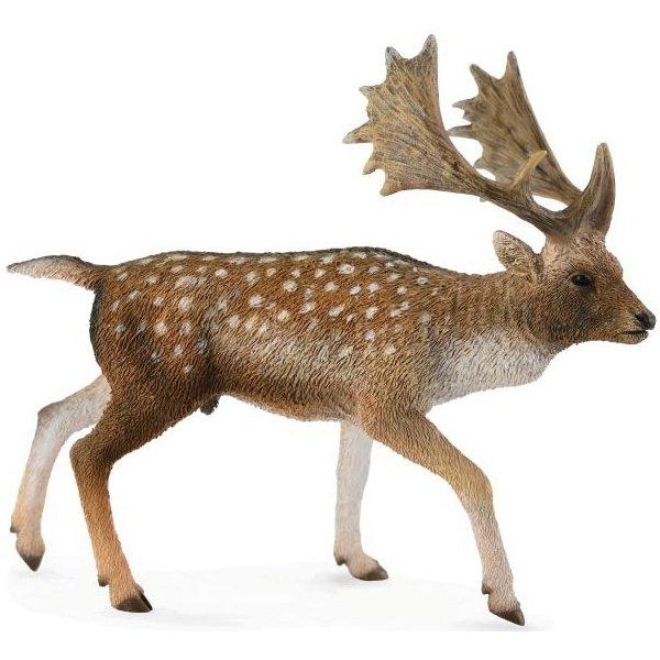 《 COLLECTA 》英國 Procon 動物模型 淡黃色鹿