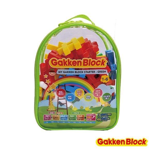 日本Gakken學研益智積木 啟發系列 (綠色新款 1歲-)
