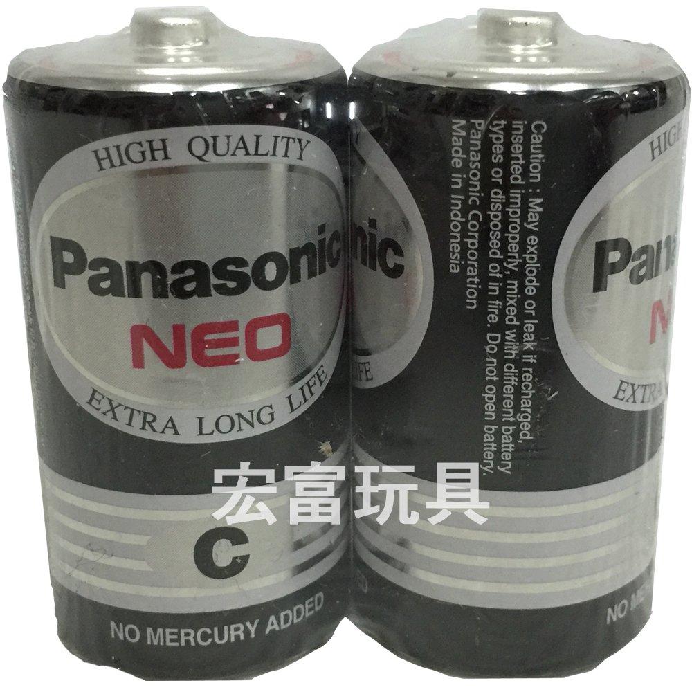 Panasonic 碳鋅 2號電池 2入