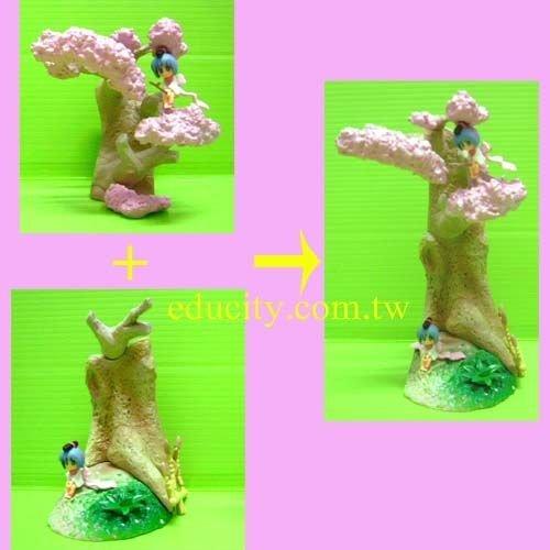 TFC情景人形集 備長炭娃娃 - 全10種( 彩色版5種+異色版5種 )日版