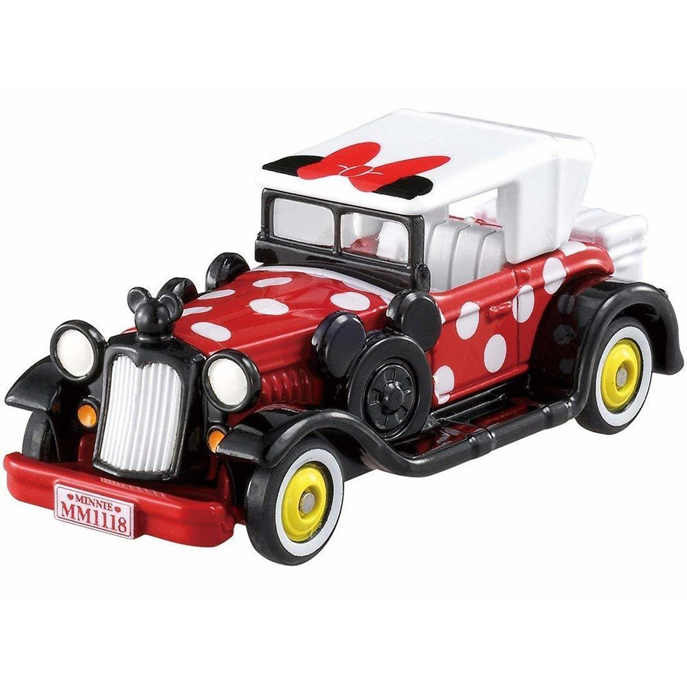 TOMICA 多美迪士尼小汽車 DM-11 米妮點點經典老爺車
