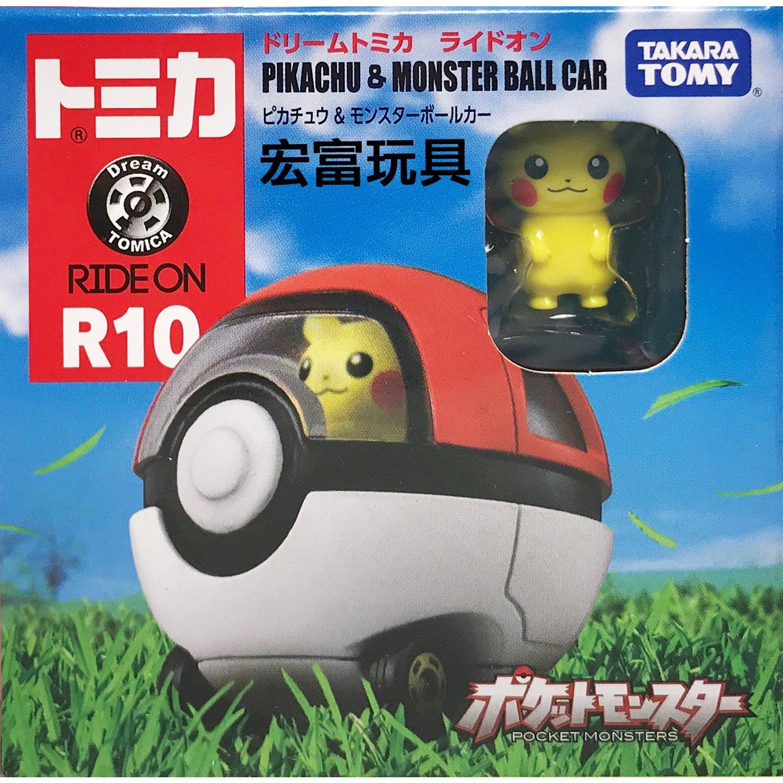 TOMICA 夢幻多美小汽車 騎乘系列 R10 皮卡丘寶貝球車