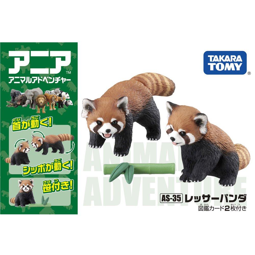 TOMY動物模型 小貓熊