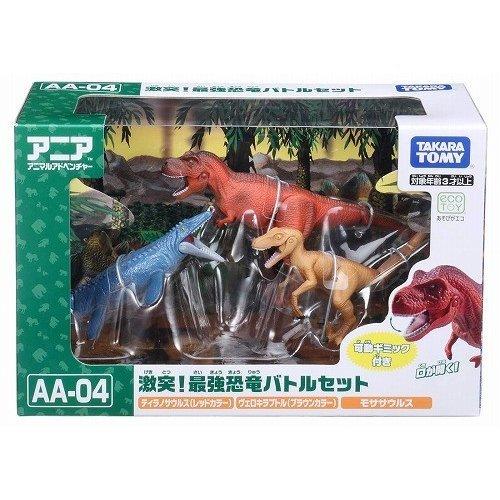 TOMY動物模型 滄龍與暴龍