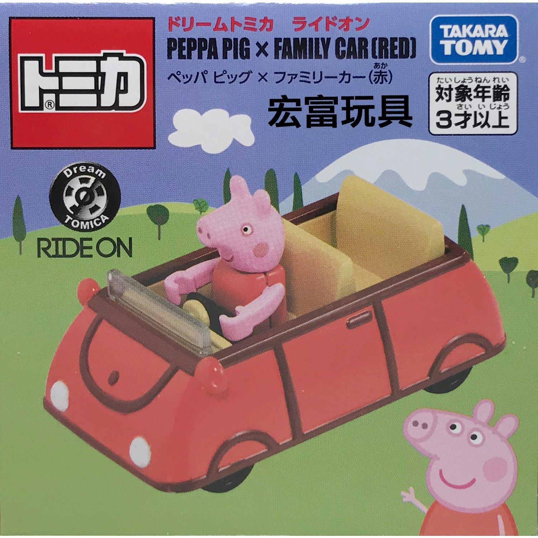 TOMICA 夢幻多美小汽車 騎乘系列 佩佩豬