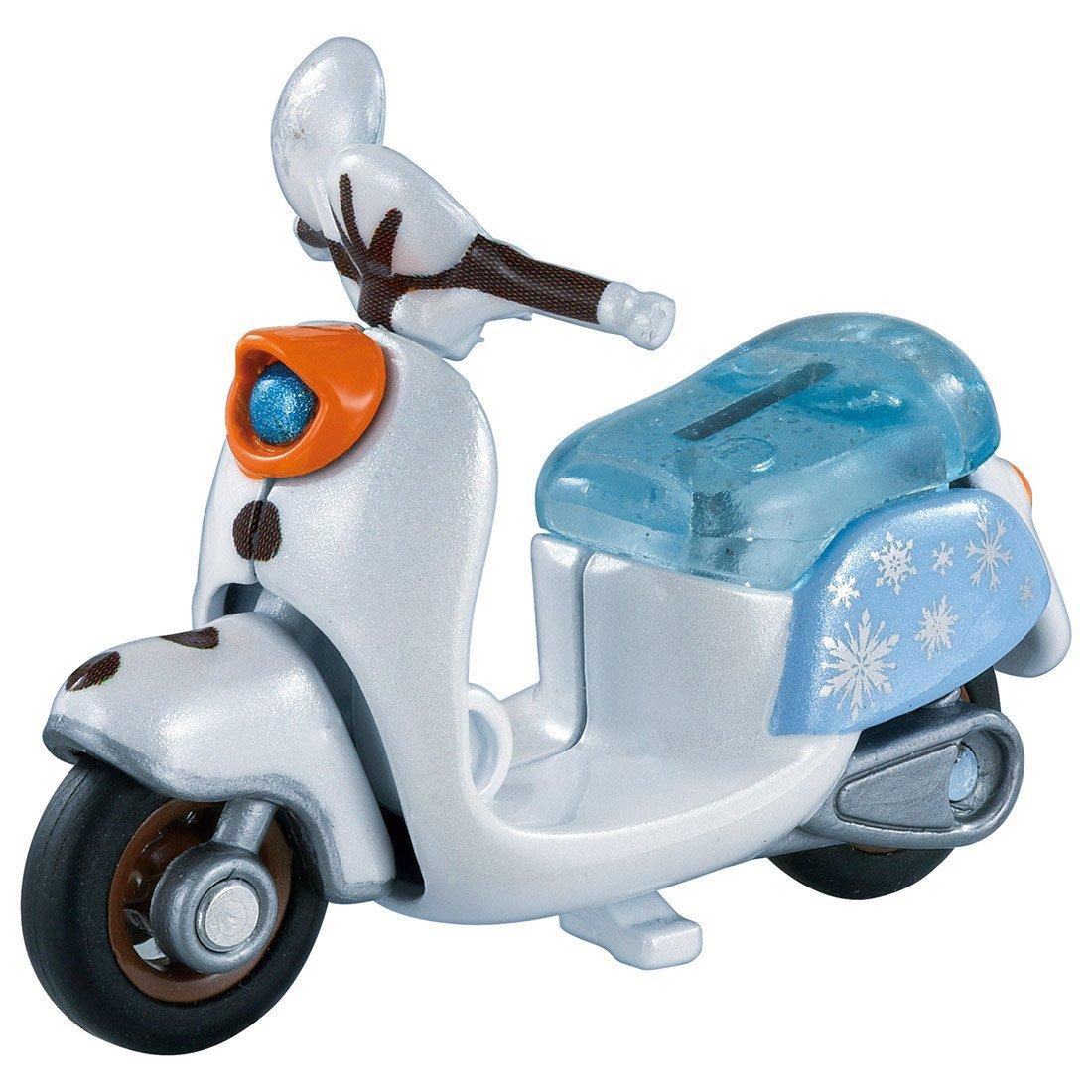 TOMICA 多美迪士尼小汽車 冰雪奇緣2 雪寶摩托車