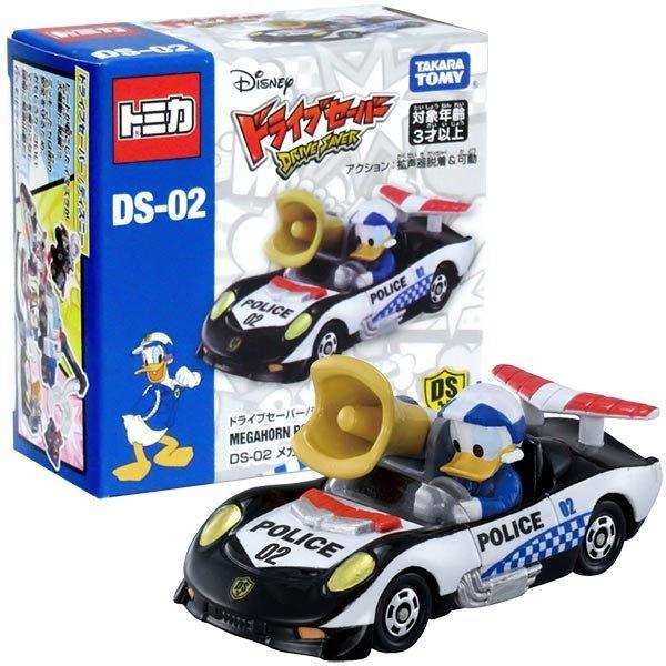 TOMICA 多美迪士尼小汽車 DS-02 米奇妙妙保衛隊-唐老鴨