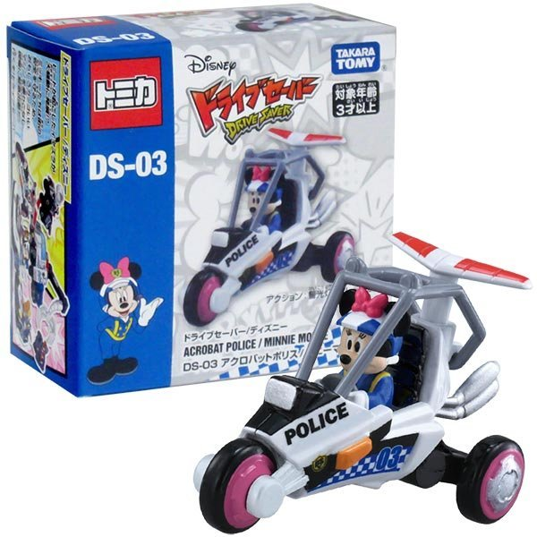 TOMICA 多美迪士尼小汽車 DS-03 米奇妙妙保衛隊-米妮