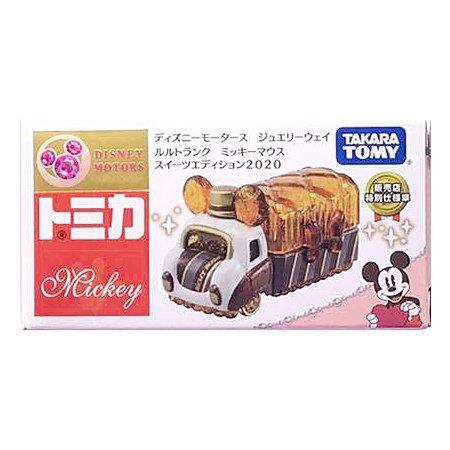TOMICA 多美迪士尼小汽車 JW手飾收納珠寶車 糖果米奇 (日本7-11限定)
