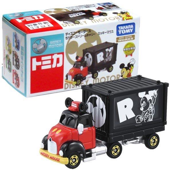 TOMICA 多美迪士尼小汽車 DM經典DREAM貨櫃小車 米奇