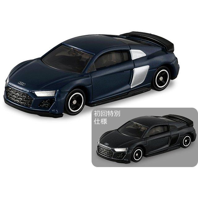 TOMICA 多美小汽車 #38 奧迪R8 一般+初回特別版