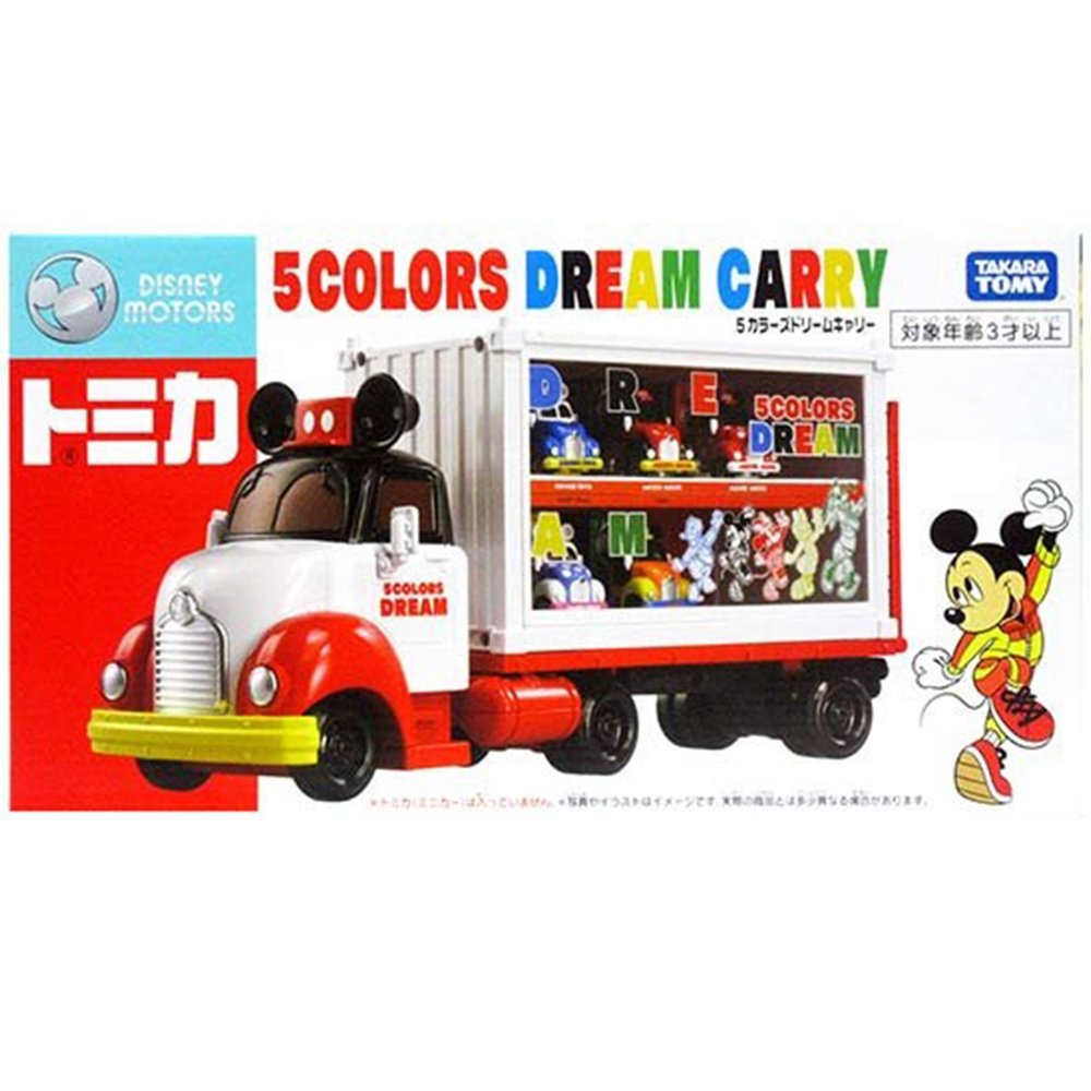 TOMICA 多美迪士尼經典DREAM收納車 【未附小車需另購】