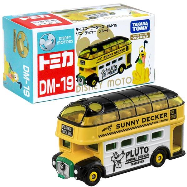 TOMICA 多美迪士尼小汽車 DM-19 布魯托巴士
