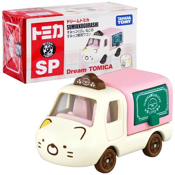 TOMICA 夢幻多美小汽車 DT角落小夥伴 貓咪小貨車(咖啡店)